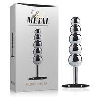 Plug-Anal-Punch-Metal-Silver