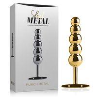 Plug-Anal-Punch-Metal-Gold
