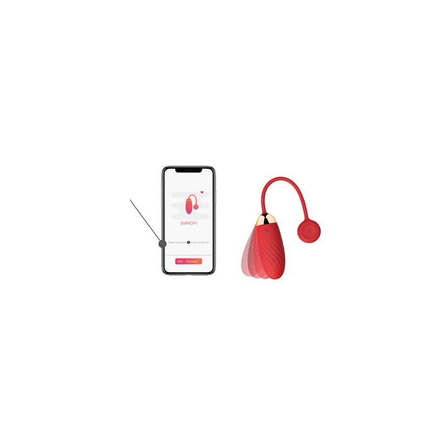 Capsula-Vibratoria-De-Luxo-Controlada-Por-App---Recarregavel---Ella