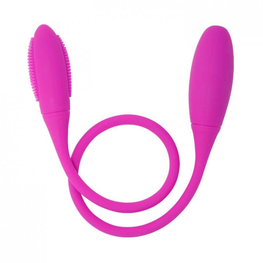 Vibrador-Duplo-Flexivel-Com-7-Modos-De-Vibracao---Snaky-Vibe---Cod.1100